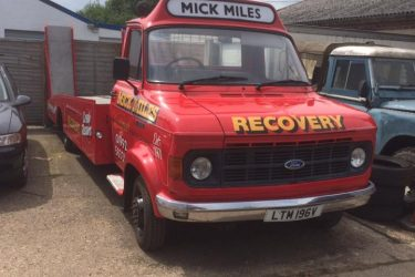 Mick Miles Motors Repairs truck